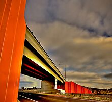 Freeway Overpass by Michael Sanders
