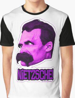 Nietzsche - Big Head Nietzsche! Graphic T-Shirt