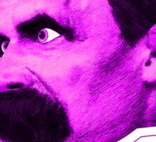 Nietzsche - Big Head Nietzsche! Sticker