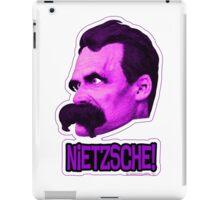 Nietzsche - Big Head Nietzsche! iPad Case/Skin