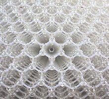 abstract hexagons by geoffford
