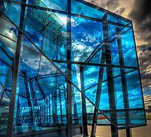 Urban Blue by Michael Sanders