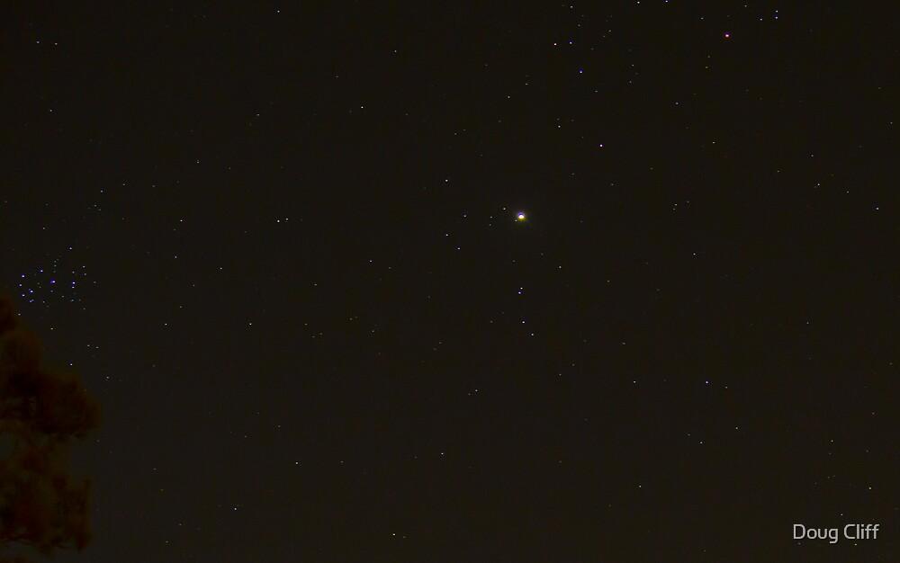 Jupiter on NYE 2012 by Doug Cliff