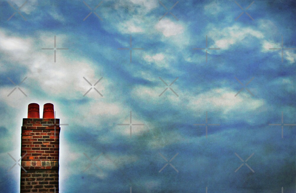 High Above The Chimney Top by Denise Abé
