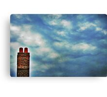 High Above The Chimney Top Canvas Print