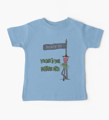Rick and Morty – Welcome to Your Nightmare, Bitch! Baby Tee