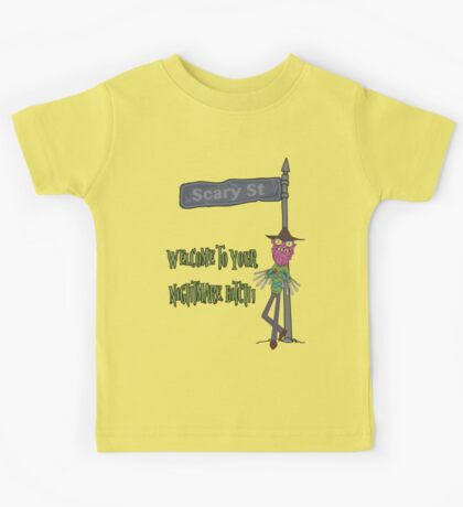 Rick and Morty – Welcome to Your Nightmare, Bitch! Kids Tee