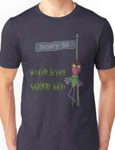 Rick and Morty – Welcome to Your Nightmare, Bitch! Unisex T-Shirt