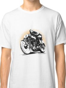 Vintage Motorcycle Racer Classic T-Shirt