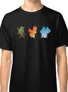 Pokemon X & Y Starters  Classic T-Shirt