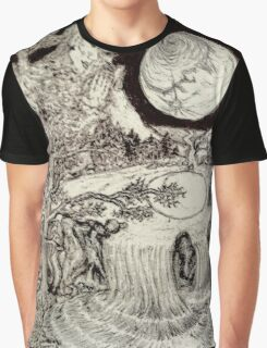 Surreal Landscape Graphic T-Shirt