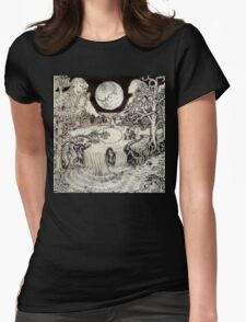 Surreal Landscape Womens Fitted T-Shirt