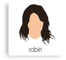 How I Met Your Mother - Robin Headshot Canvas Print