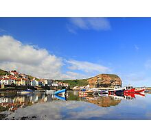 summer Staithes Photographic Print