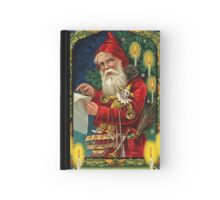 Merry Christmas Vintage -Available As Art Prints-Mugs,Cases,Duvets,T Shirts,Stickers,etc Hardcover Journal