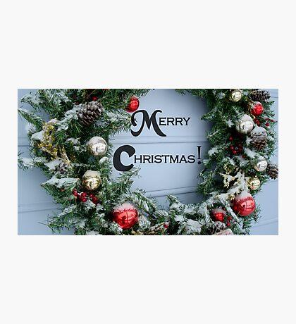 Holiday Wreath ^ Photographic Print
