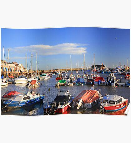 Bridlington harbour Poster