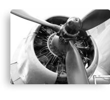 Douglas Dakota engine Canvas Print