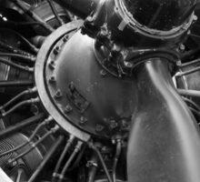 Douglas Dakota engine Sticker