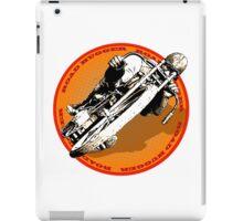 Motorcycle Racer Road Hugger iPad Case/Skin