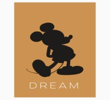 Dream- Orange (fitted for pillows, iPad case, apparel) Kids Clothes