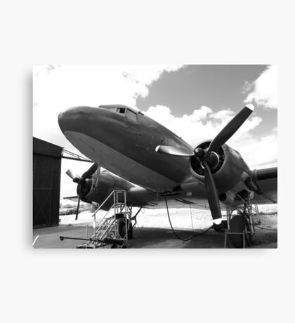 Douglas DC3 dakota aircraft Canvas Print
