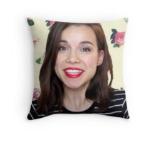 Ingrid Nilsen Throw Pillow