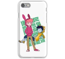 Marshall and Gumball Crosshatch iPhone Case/Skin