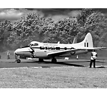 de Havilland DH104 Devon aircraft Photographic Print