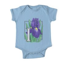 I is for Iris One Piece - Short Sleeve