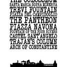 Rome Landmarks by Alexandrico