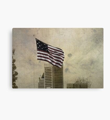 Winter On Federal Hill Canvas Print