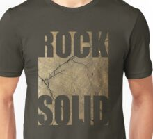 ROCK SOLID rock face Tee Unisex T-Shirt