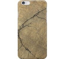 Cracked Rock Face Texture iPhone Case/Skin
