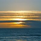 Sunset triptych by howardcar