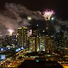 New Years Eve - Melbourne 2012 by Frank Moroni