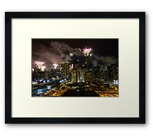 New Years Eve - Melbourne   Framed Print
