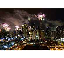New Years Eve - Melbourne   Photographic Print