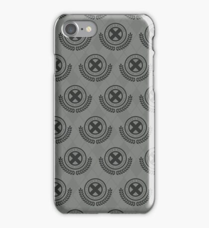 School For Gifted Youngsters - Grey iPhone Case/Skin