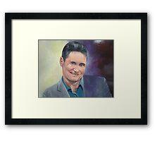 Hughesy Warrnibald entry 2012 Framed Print