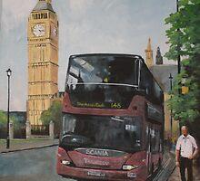 London Bus by gwyntay
