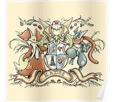 Kalos Coat of Arms Poster