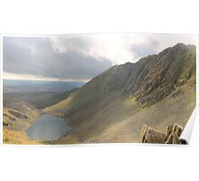 Dow Crag and Goats Water Cumbria Poster