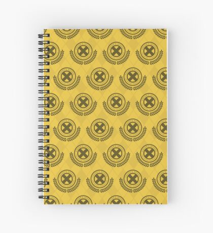 School For Gifted Youngsters - Yellow Spiral Notebook