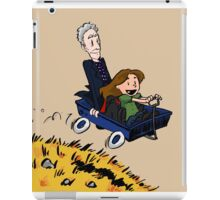 Doctor Who: Onward, to adventure! iPad Case/Skin