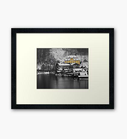 Halschatt, Austria Framed Print