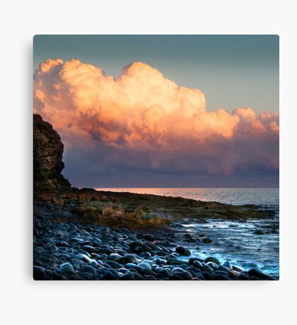 Clouds Reflect the Sun Canvas Print