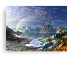 Return to Spider Island Canvas Print