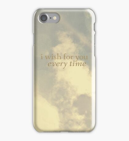 I wish for you  iPhone Case/Skin