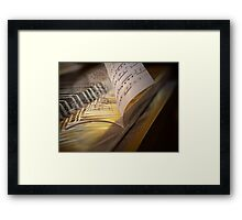 If Music Be The Food Of Love... Framed Print